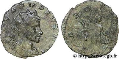 Antoniniano de Claudio II. SPES AVG. Siscia 51558.m