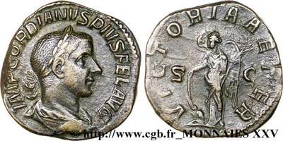 Sestercio de Gordiano III. VICTORIA AETER. Roma 280729.m