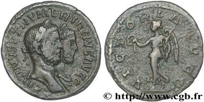 Carus - Carinus - Numerien et Sol sur une même monnaie 334492.m