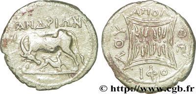 Dracma de Dyrrachium, (Ilyria) 531316.m