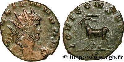 Antoniniano de Galieno. IOVI CONS AVG. Roma 608777.m
