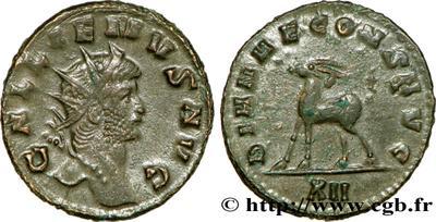 Antoniniano de Galieno. DIANAE CONS AVG. Roma 608785.m