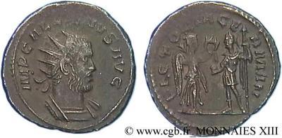 Antoniniano de Galieno. VICTORIA GERMAN. Victoria y Galieno. Antioquía 84970.m