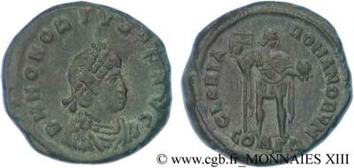 Fragmento de AE3 tipo GLORIA ROMANORVM  85676.m