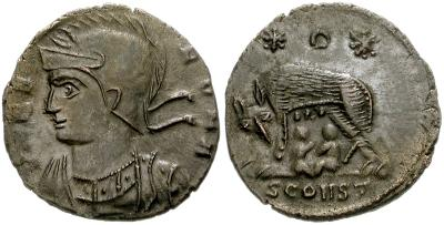 AE4 Conmemorativa de Roma. VRBS ROMA 36998.m