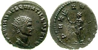 Antoniniano de Claudio II. PAX AVGVSTI 138953.m