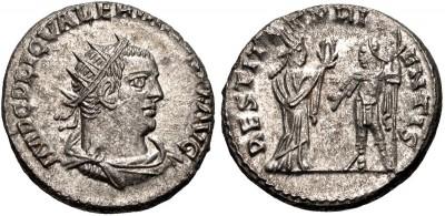 Antoniniano de Valeriano I. RESTITVT ORIENTIS. Emperador y Oriente. ¿Samosata? 3301100.m