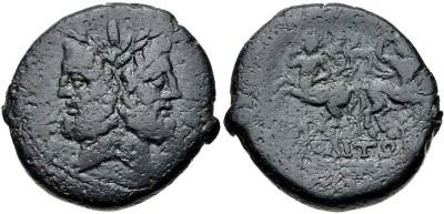 Cabeza femenina a derecha y centauro  ?  . 3307546.m