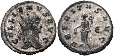 Antoniniano de Galieno. VBERITAS AVG. Roma 3312810.m