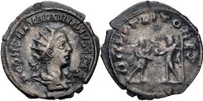 Antoniniano de Salonino. DII NVTRITORES. Antioquía  3315917.m
