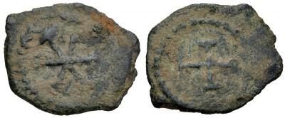 Nuevo nummus visigodo con busto y Crismón 3317018.m