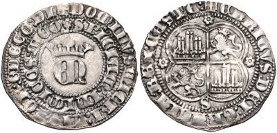 ENRIQUE II - 1 REAL PLATA- SEVILLA - 1368 / 1379 3334011.m