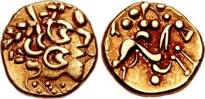 """La """"increíblemente extraña"""" moneda romana que encontraron mientras reparaban una carretera en Reino Unido 4339589.m"""