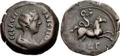 Alexandria Trajan 97-117 Dichalque jahr 17