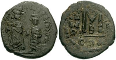40 nummi de Heraclio y Heraclio Constantino 406781.m