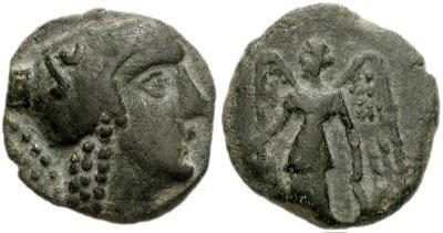 AE17 de Aretas II o III. 411325.m