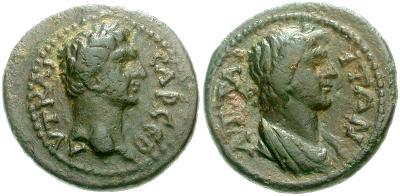 AE16 de Trajano. Attaea en Mysia 500360.m