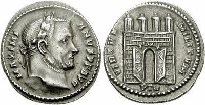 Argenteus inédit de Constantin pour Trêves 718690.m