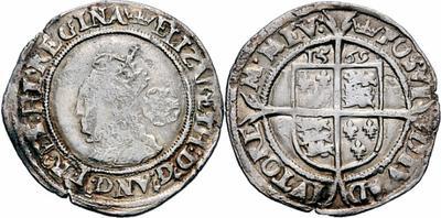 Elizabeth I -  sixpence 768285.m
