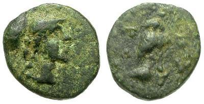 Bronce de Atenas (Atenea - Mochuelo sobre ánfora) / 195-190 a.C. 15650.m