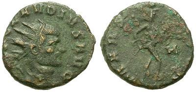 Antoniniano de Claudio II. MARS VLTOR. Roma 15809.m