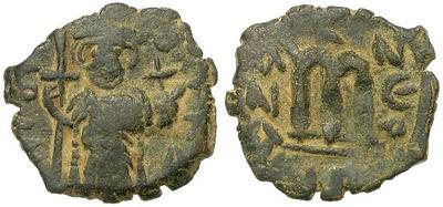 40 nummi de Constante II 28766.m