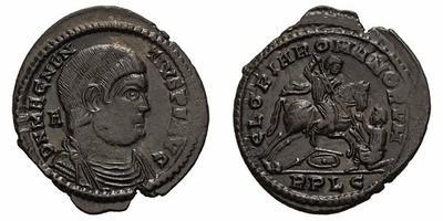 AE3 Imitativo de Magnencio. GLORIA ROMANORVM. Lyon  1830529.m