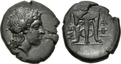 Tetróbolo de Zakynthos (Zante). 456 - 405 a. C. 1739219.m