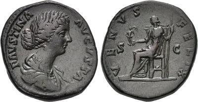 Sestercio de Faustina II 1781736.m