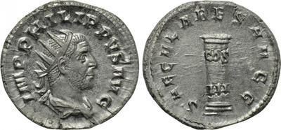 Glosario de monedas romanas. CIPO - CIPPUS. 3578232.m