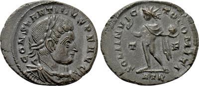 Nummus de Constantino II. CLARITAS REIPVBLICAE. Trier 6114453.m