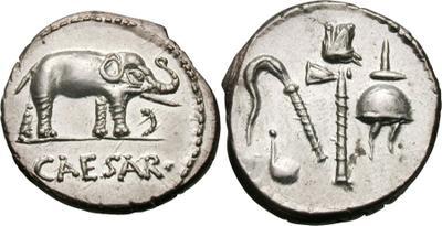 Denario, CAESAR, elefante 978393.m