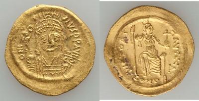 Sólido de Justino II (565-578) 1479803.m