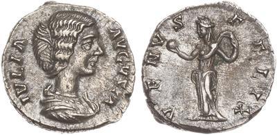 Denario de Julia Domna. VENVS FELIX. Ceca Roma. 1523502.m