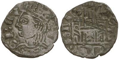 Dinero coronado o cornado de Alfonso XI. Toledo 2422443.m