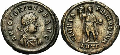 Decargiro de Teodosio I. GLORIA ROMANORVM 1223041.m