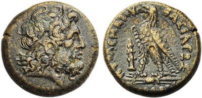 Moneda griega del período helenístico.  4335399.m
