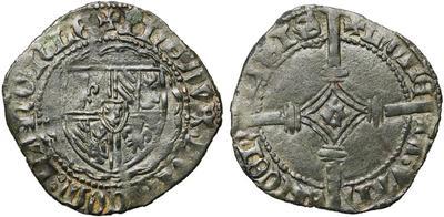 Doble Mite de Felipe III el Bueno. Brujas 4850449.m