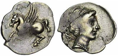 Hemidracma de Corinto 315884.m