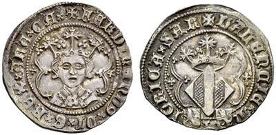Falsificación. Real de Fernando I de Aragón (Valencia, 1412-1416). 1379470.m