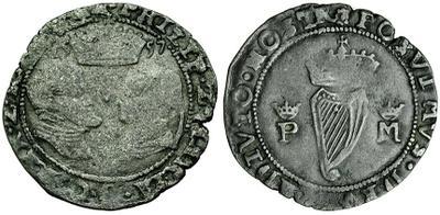 Groat de Felipe II y Maria Tudor. 1557 2975921.m