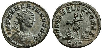 Aureliano de Numeriano. VNDIQVE VICTORES. Roma 3429600.m