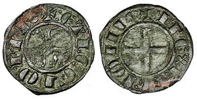 Dinero de Fernando IV.  3680492.m