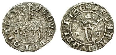 Blanco del Agnus Dei de Juan I. Aro a izq. del cordero. Ceca incierta 3680583.m