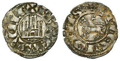 Dinero de Fernando IV Emisión de 1297. Ceca . . . 3681791.m