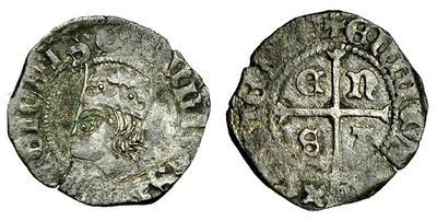 Cruzado de Enrique II. 3681817.m