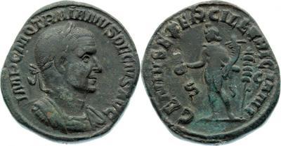 Sestercio de Trajano Decio. GEN ILLVRICI / S C. Genio 1250861.m