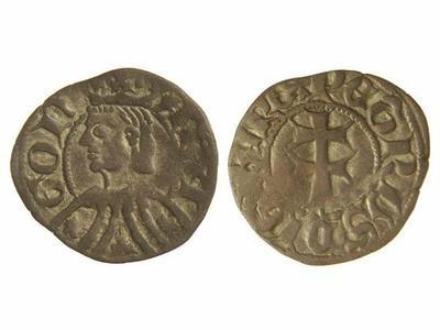 Dinero de Pedro IV de Aragón 1172778.m