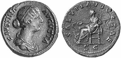 Sestercio de Faustina II 114216.m