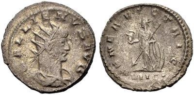 Antoniniano de Galieno. VENERI VICTRICI. Venus a izq. Antioquía 4748389.m